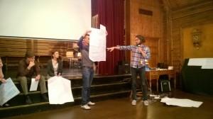 Sami Huovatainen esittelee kongnitiivisen ergonomian elementtejä.